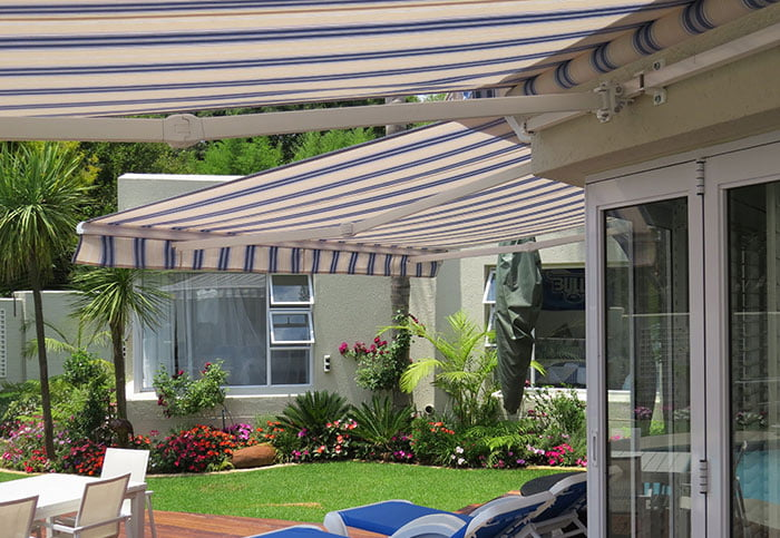 PVC Drop Arm Awning
